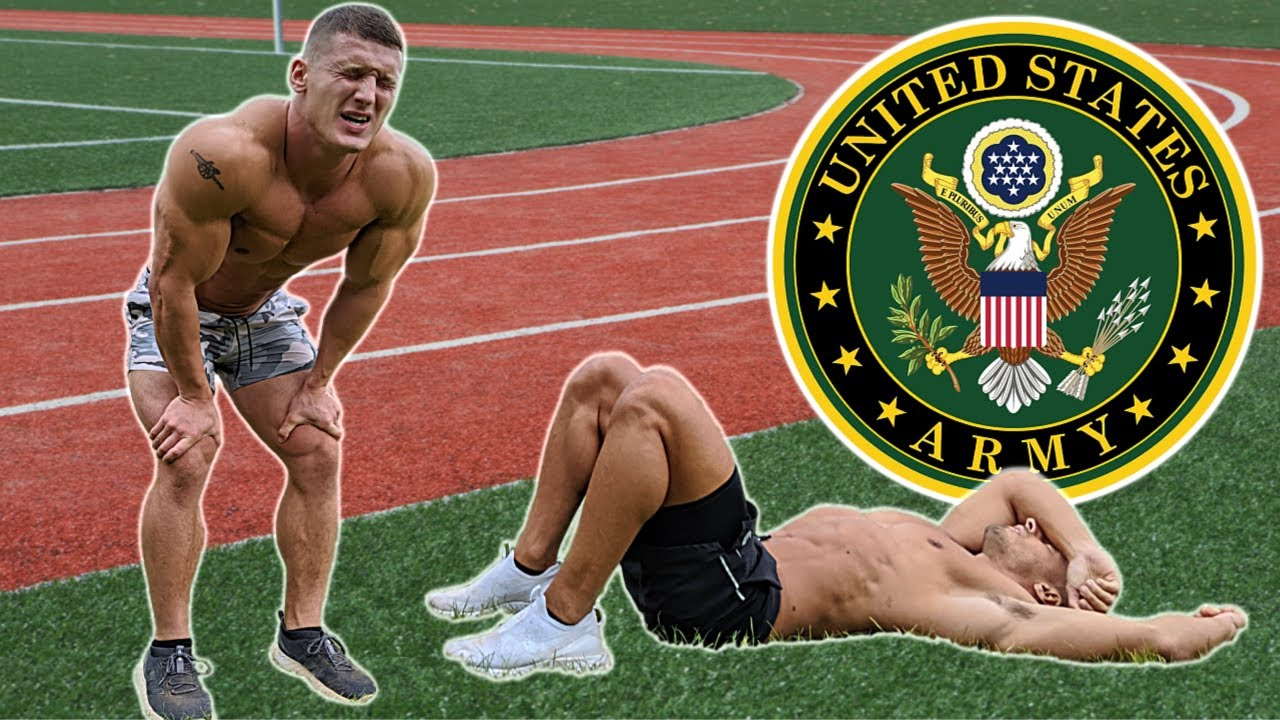 Bodybuilders try the US Army Fitness Test without