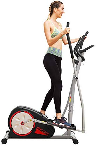 ANCHEER Elliptical Machine Trainer Magnetic Smooth