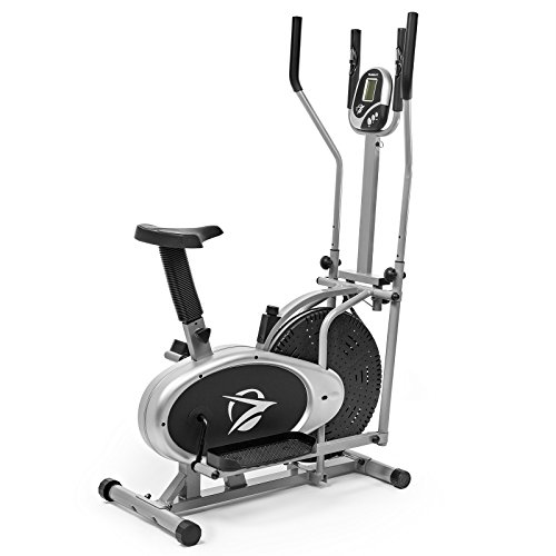 Plasma Fit Elliptical Machine Cross Trainer 2 in 1