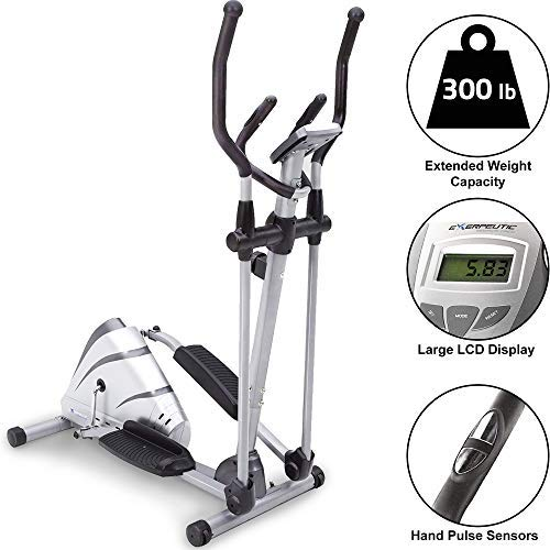 Exerpeutic Heavy Duty Magnetic Elliptical with